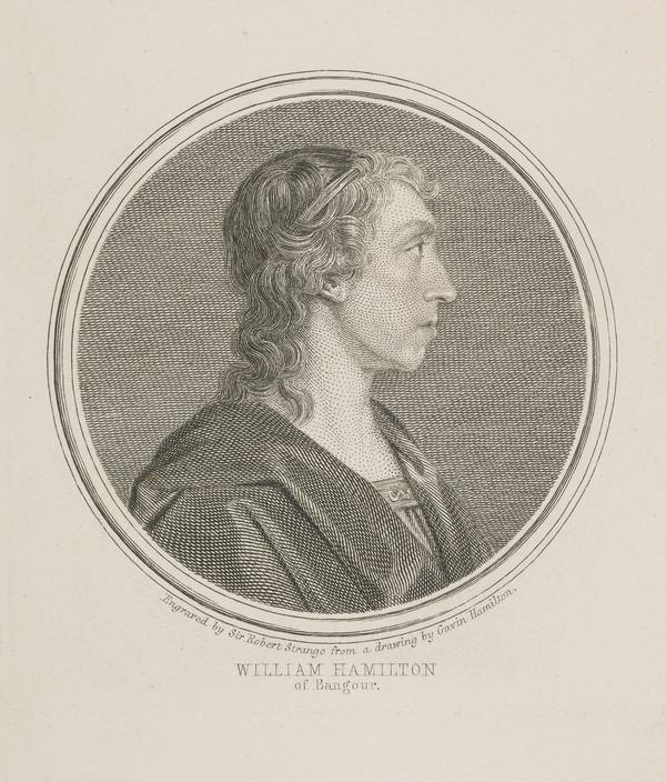 William Hamilton of Bangour, 1704 - 1754. Poet (Published 1760)