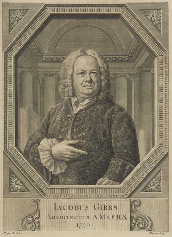 James Gibbs, 1682 - 1754. Architect