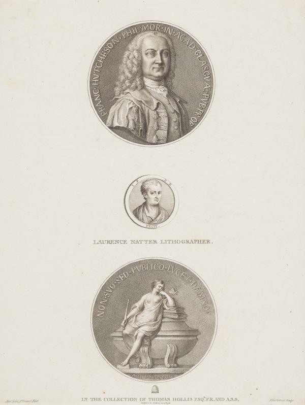 Professor Francis Hutcheson, 1694 - 1746. Metaphysician (Published 1870)