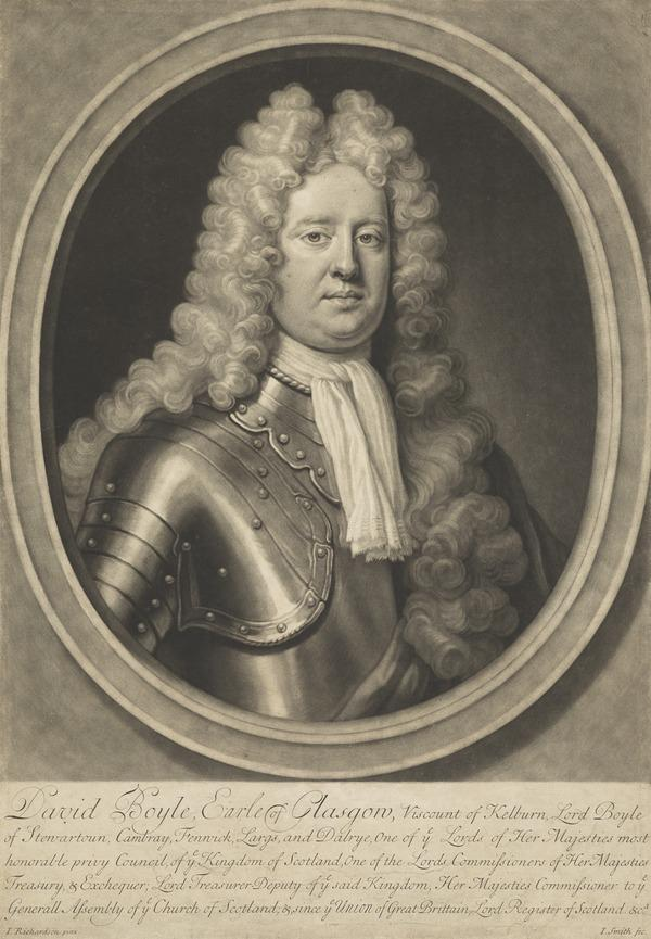 David Boyle, 1st Earl of Glasgow, 1660 - 1733