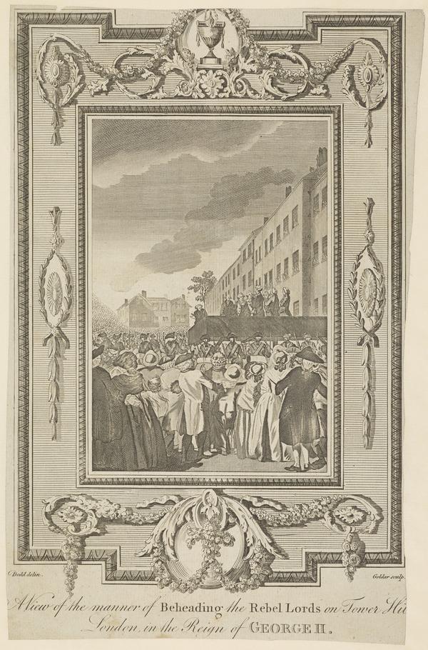 Arthur Elphinstone, Lord Balmerino, 1688 - 1746. Jacobite