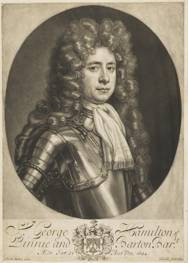 Sir George Hamilton of Birnie and Barnton, 1643 - 1726 (1694)