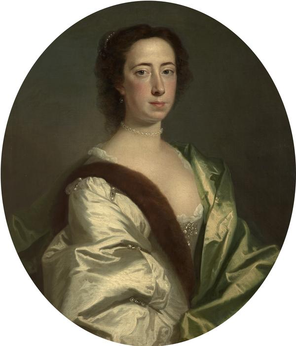 Lady Lucy Manners, Duchess of Montrose (1717 - 1788) (Dated 1739)