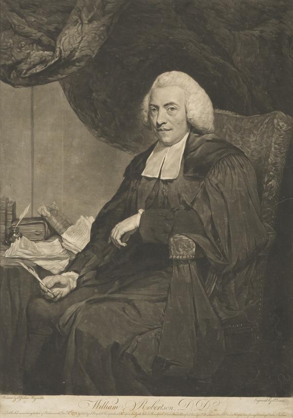 William Robertson, 1721 - 1793. Historian; Principal of Edinburgh University (Published 1772)