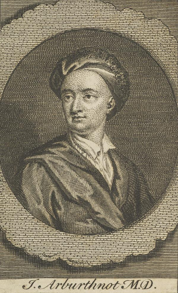 John Arbuthnot, 1667 - 1735. Physician and wit