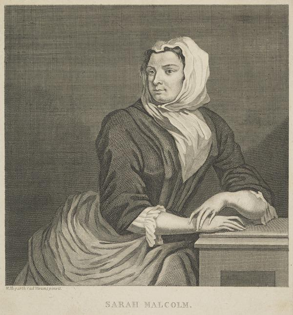 Sarah Malcolm, c 171- - 1733. Criminal
