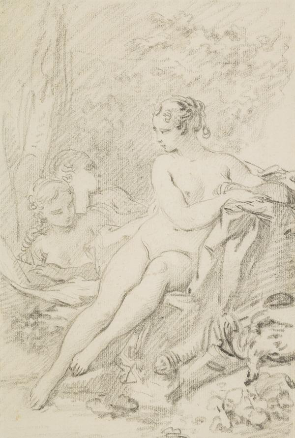 Diana and Two Nymphs