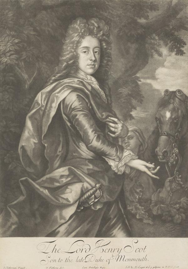 Henry Scott, Earl of Deloraine, 1676 - 1730. Son of James, Duke of Monmouth