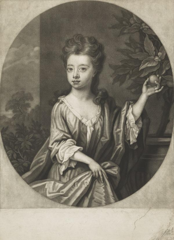 Lady Mary Douglas, 1699 - 1705. Daughter of the 2nd Duke of Queensberry