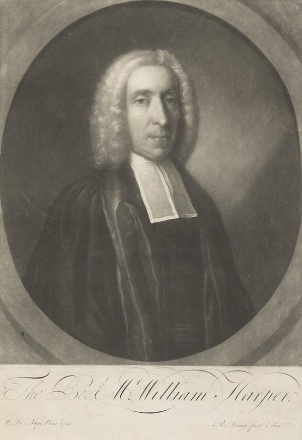 Rev. William Harper, fl. 1745