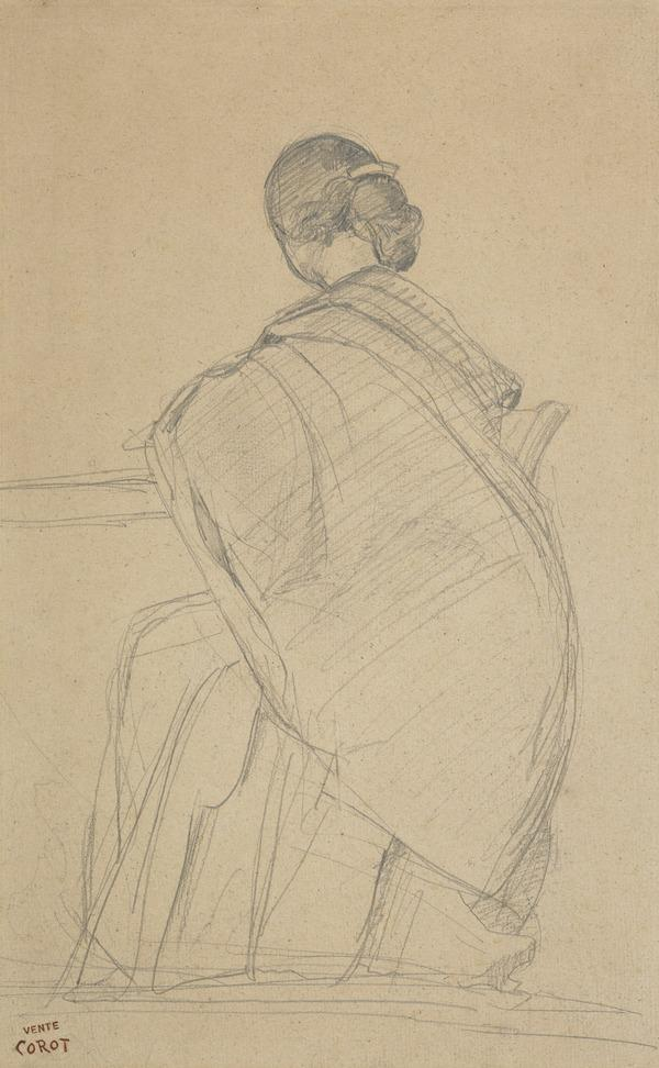 A Woman Writing at a Table