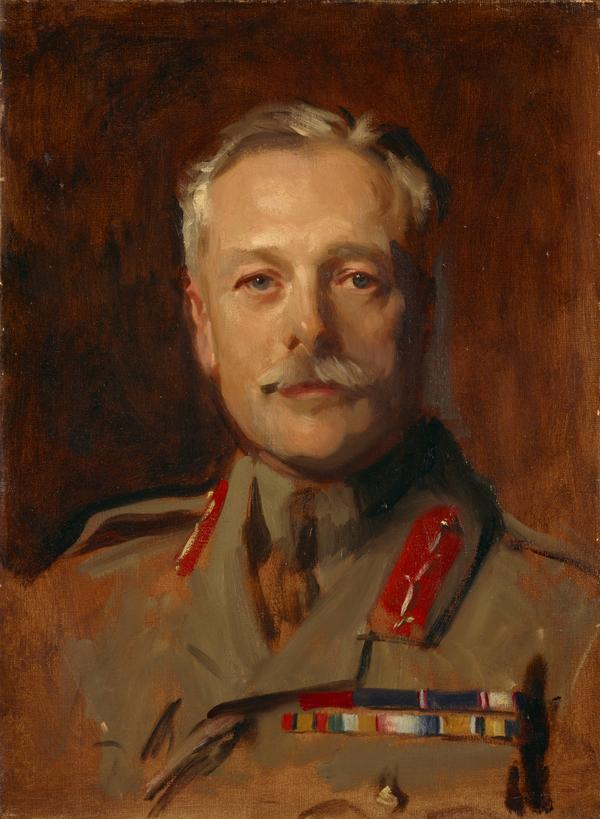 Douglas Haig, 1st Earl Haig, 1861 - 1928. Soldier (study for portrait in General Officers of World War I, 1914 - 1918, in the National Portrait... (About 1922)