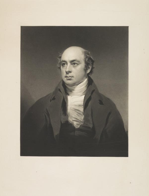 Sir Francis Legatt Chantrey, 1781 - 1842. Sculptor (Published 1843)