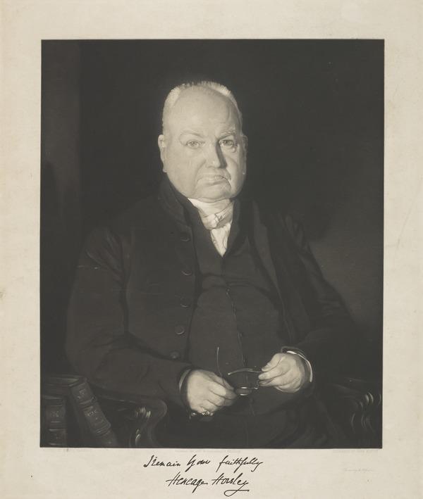 Henage Horsley (Published 1847)