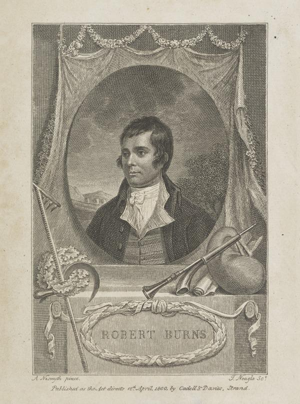 Robert Burns, 1759 - 1796. Poet (1800)