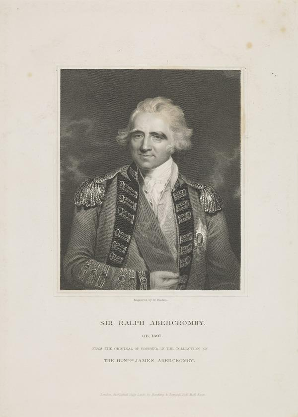 Sir Ralph Abercromby, 1734 - 1801. General (Published 1831)