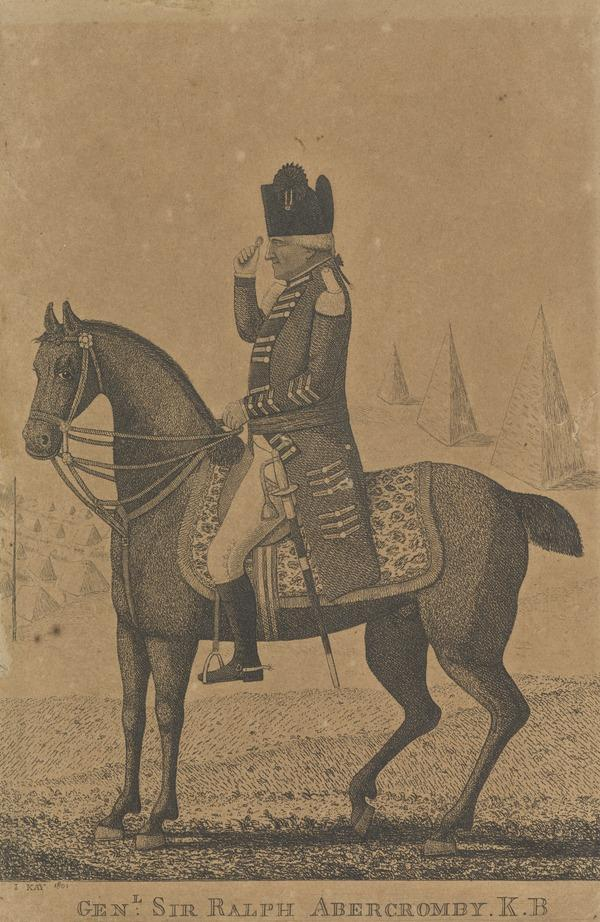 Sir Ralph Abercromby, 1734 - 1801. General (1801 - 1826)