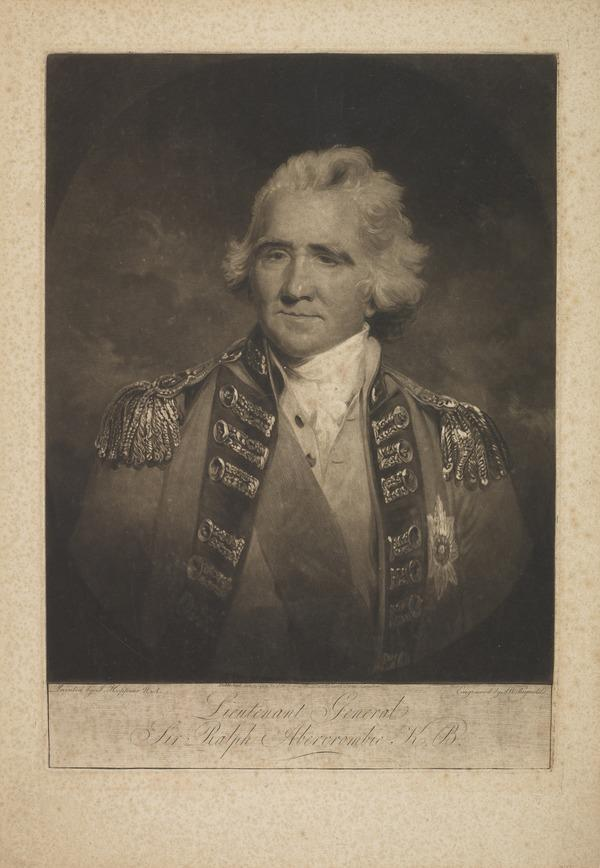 Sir Ralph Abercromby, 1734 - 1801. General (Published 1799)