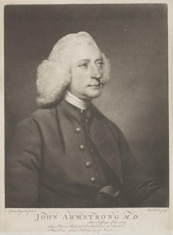 John Armstrong, 1709 - 1779. Physician and poet
