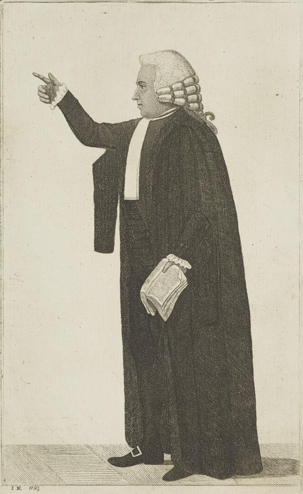 Robert Blair, Lord Blair, 1741- 1811. Lord President of the College of Justice (1793)