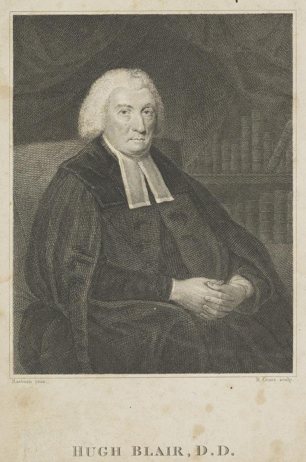 Hugh Blair, 1718 - 1800. Divine and author