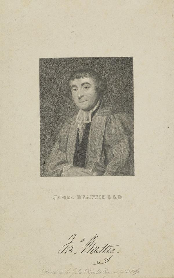 James Beattie, 1735 - 1803. Poet and moral philosopher