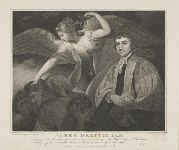 James Beattie, 1735 - 1803. Poet and moral philosopher (Published 1805)