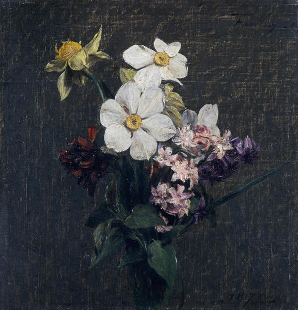 Spring Flowers (Dated 1872)