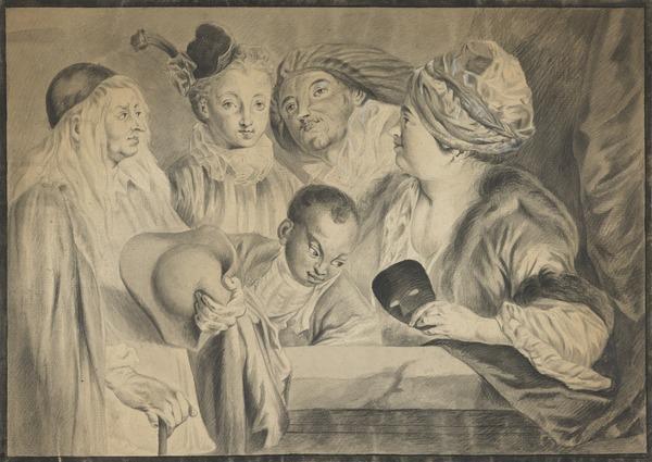 Love in an Italian Theatre (Estimated earliest year: 1699)