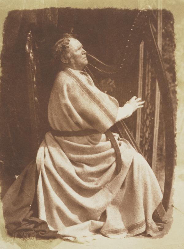 Patrick Byrne, c 1797 - 1863. Irish Harpist [a]
