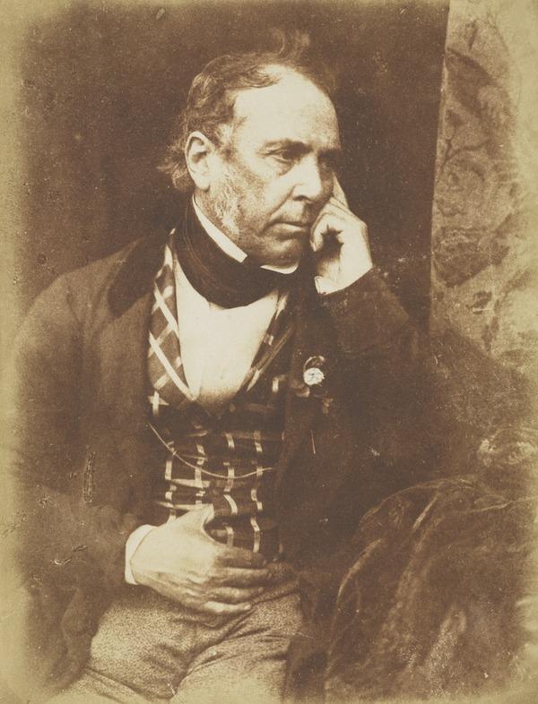 Colonel James Glencairn Burns, 1794 - 1865. Youngest son of Robert Burns the poet [a] (1843 - 1847)