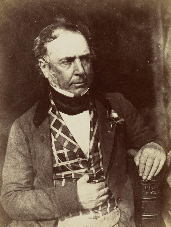 Colonel James Glencairn Burns, 1794 - 1865  Youngest son of Robert Burns the poet [c] (1844 or after (print made later))