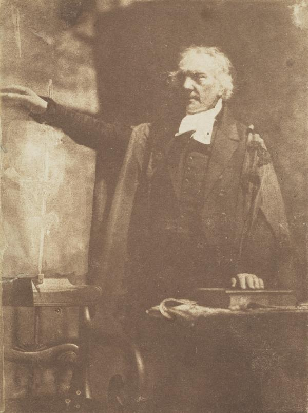 Rev. Thomas Chalmers, 1780 - 1847. Preacher and social reformer (shown preaching) (1843)