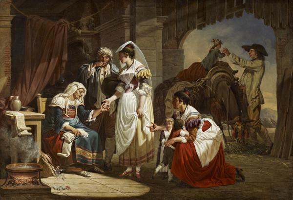 La Diseuse de Bonne Aventure (The Fortune Teller) (1784 - 1785)