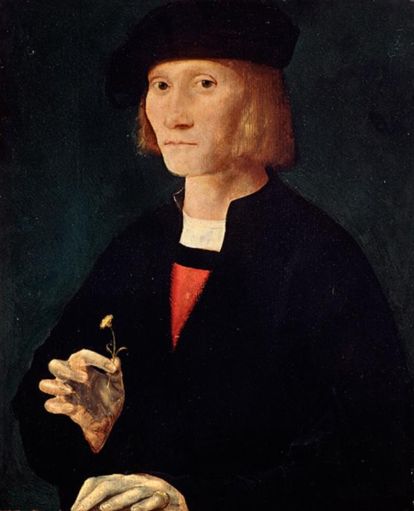 Portrait of a Man, called James IV (1488 - 1513) (Probably painted about 1510 - 1520)