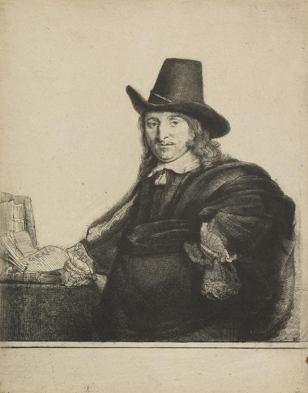 Jan Asselyn, Painter ('Krabbetje') (Bartsch no. 277 II/3) (About 1647)
