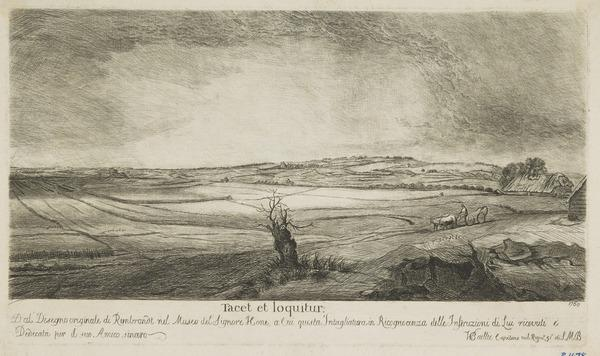 Unidentified copy - [Landscape (by William Baillie)] (Dated 1750)