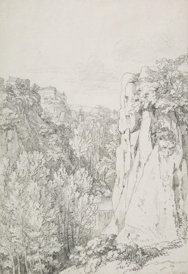 View of Civita Castellana (About 1785 - 1790)