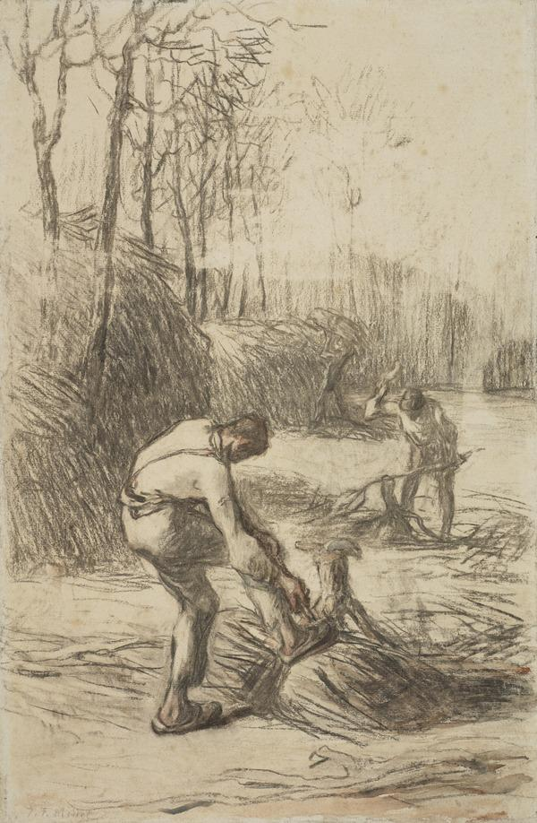 Wood Choppers (About 1850)