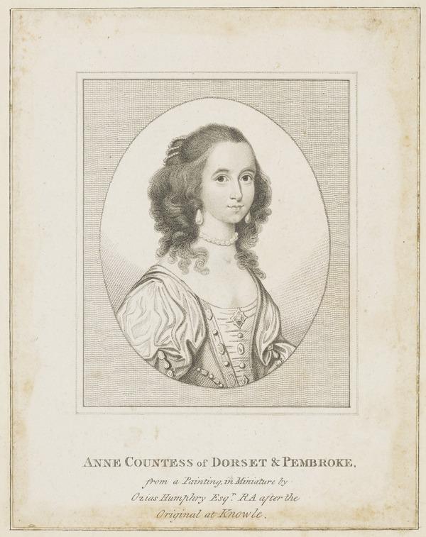 Anne (Clifford) Pembroke, Countess of Dorset and Pembroke, (1590-1676)