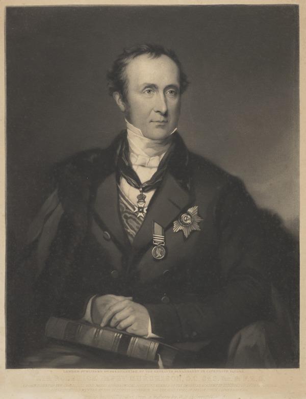 Sir Roderick Impey Murchison, 1792 - 1871. Geologist (1851)