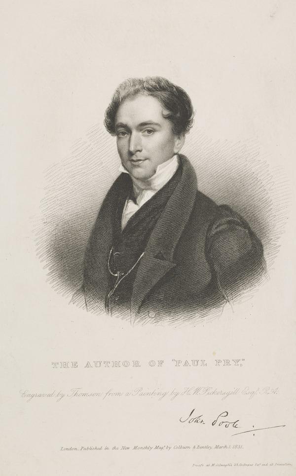 John Poole (1786?-1872), dramatist (1831)