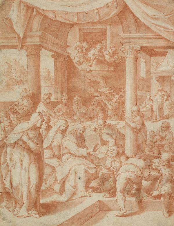The Marriage at Cana (Dated 1598)