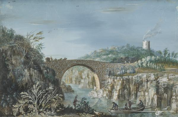 The Bridge of Alvah, Duff House, Banffshire (Dated 1774)