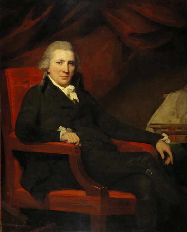 Professor John Bruce, 1745 - 1826. Historian (About 1794)