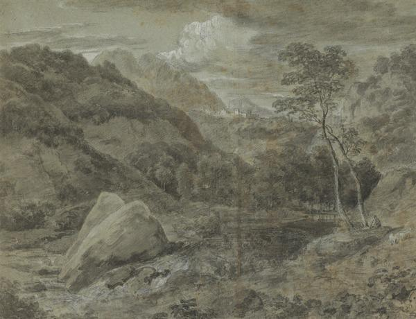 Landscape - A Wooded Landscape