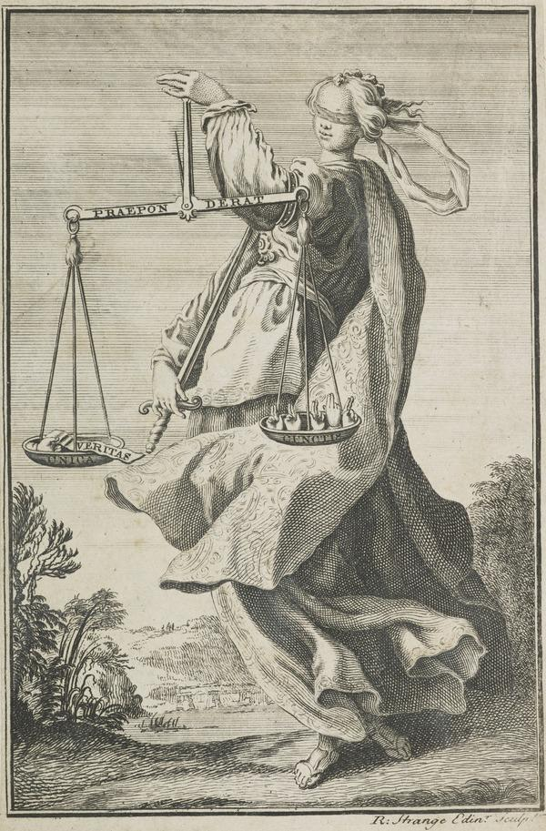 Allegorical Figure of Justice (About 1747)