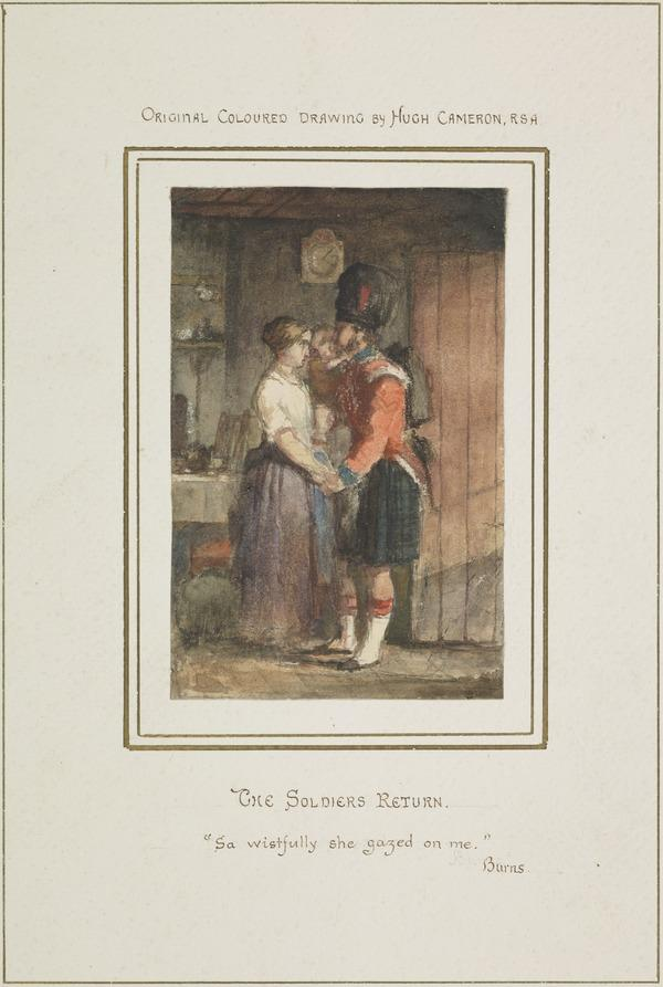 The Soldier's Return - 'Sa Wistfully She Gazed On Me'