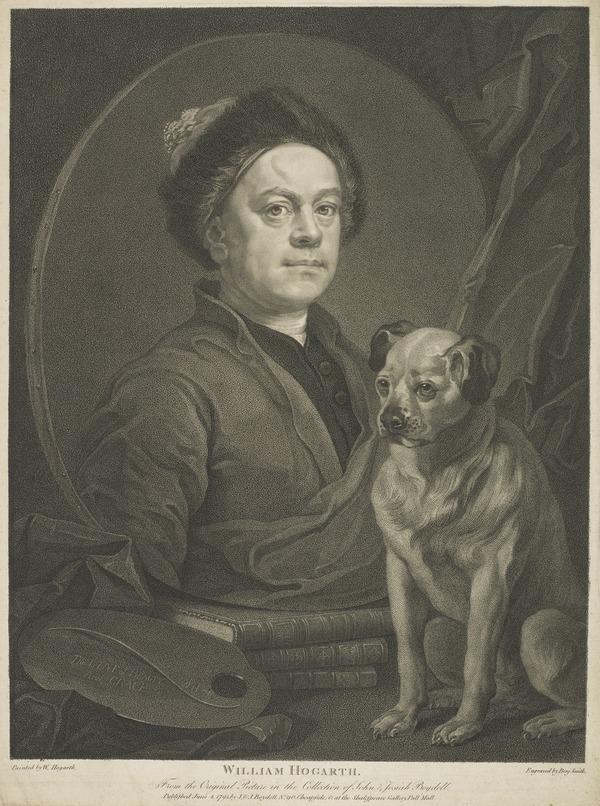 William Hogarth, 1697 - 1764. Painter (1795)