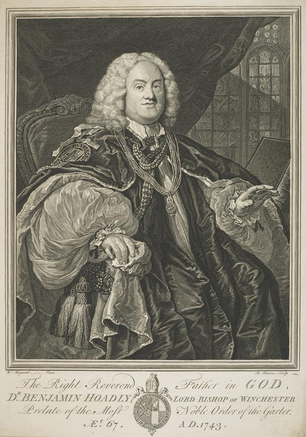 Benjamin Hoadly, 1676 - 1761. Bishop of Winchester